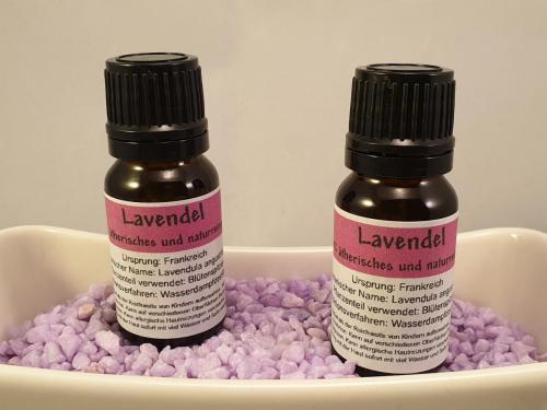 100% ätherisches & naturreines Öl - Lavendel